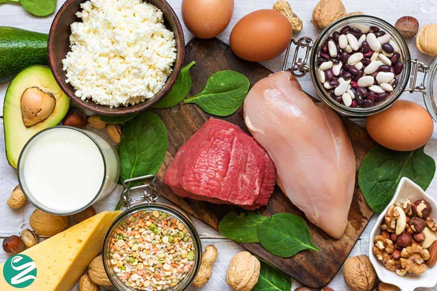 مصرف پروتئین