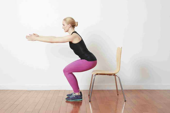شناور بودن روی صندلی (Chair Hover)