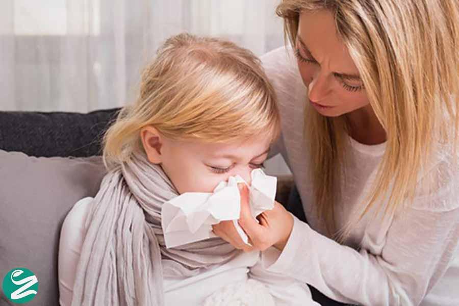 علائم سرماخوردگی در کودکان