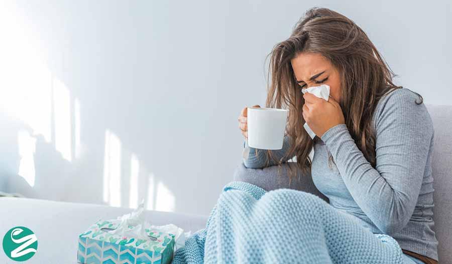 سرماخوردگی با آنفولانزا