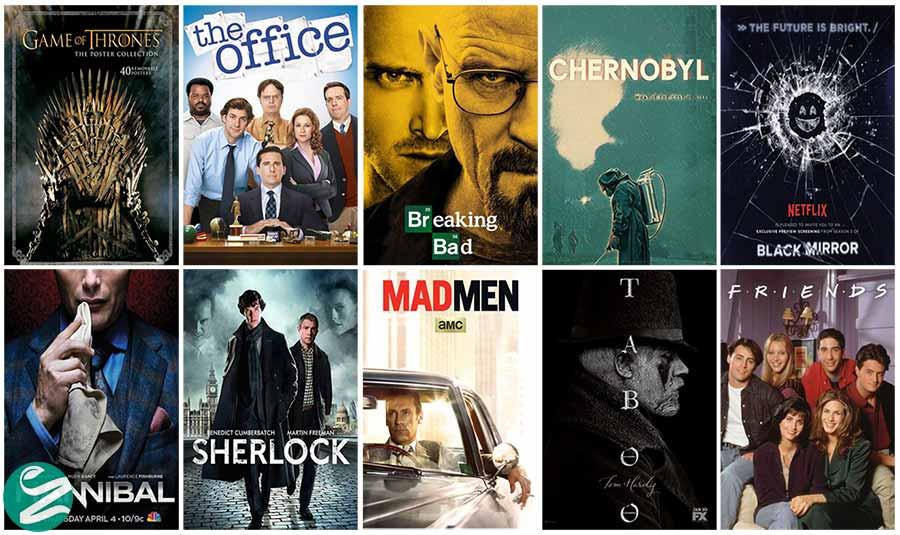بهترین سریال های تمام شده از نظر IMDB