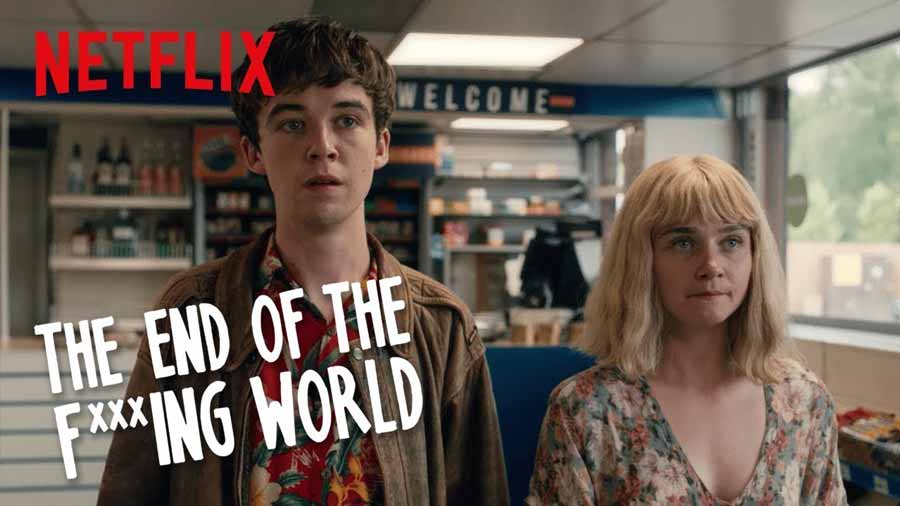 سریال The End of the F***ing World (پایان دنیای لعنتی)