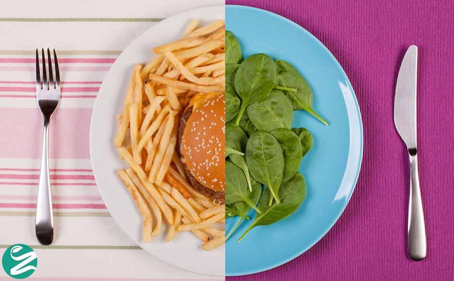 کاهش مصرف کالری