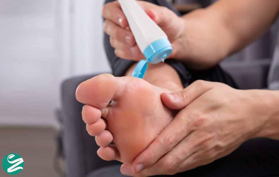 پماد برای درمان سوزش پا