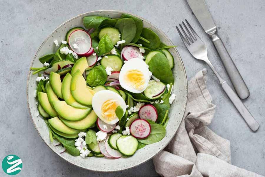 سبزیجات در کتوژنیک