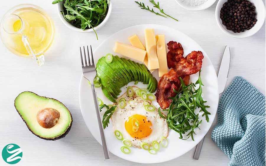 غذاهای مفید در رژیم کتوژنیک