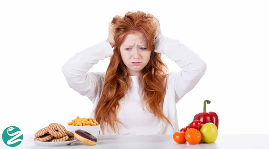 استرس و کاهش وزن