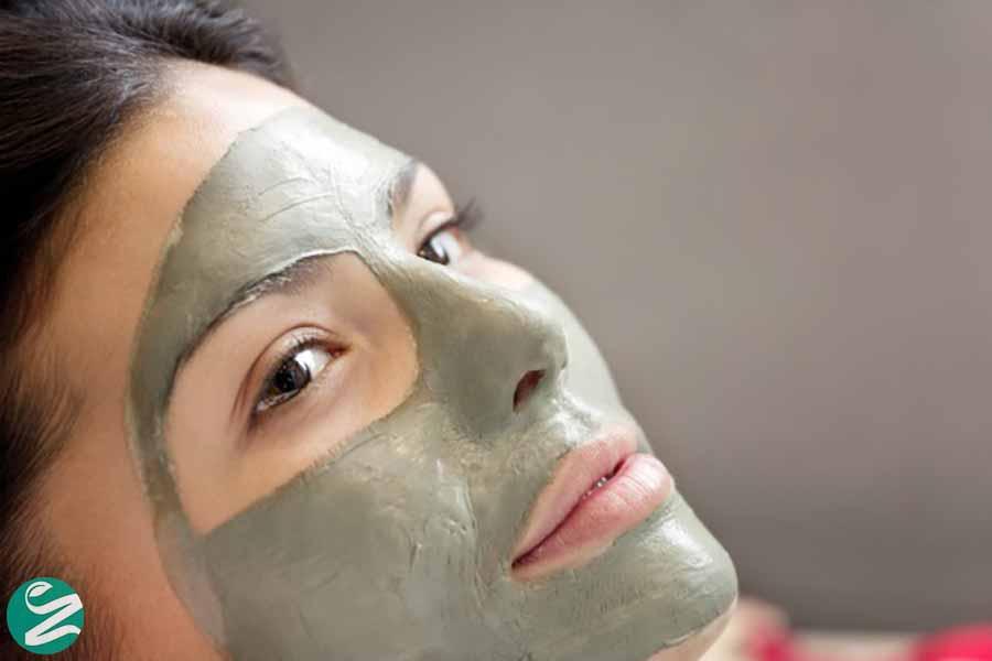 ماسک صورت خاک رس بنتونیت