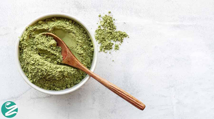 ماسک آرد برنج و چای سبز