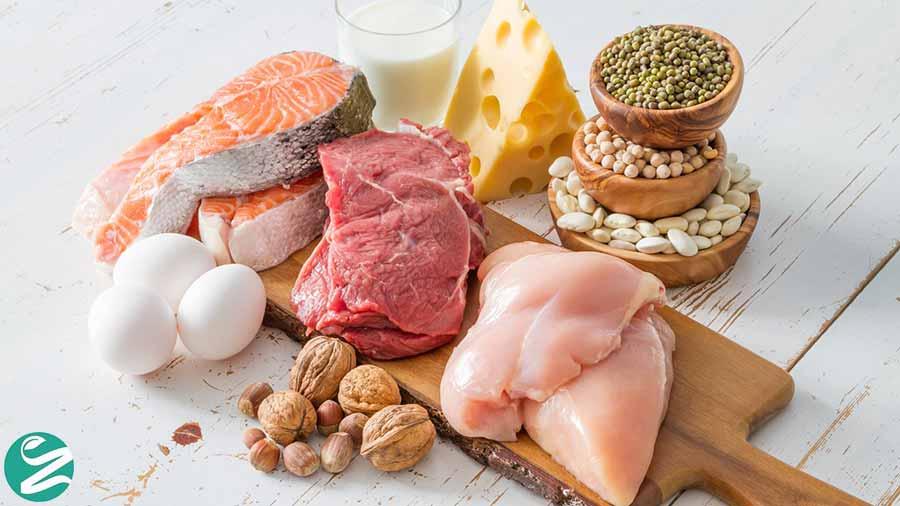 غذاهای پروتئینی مناسب کاهش وزن