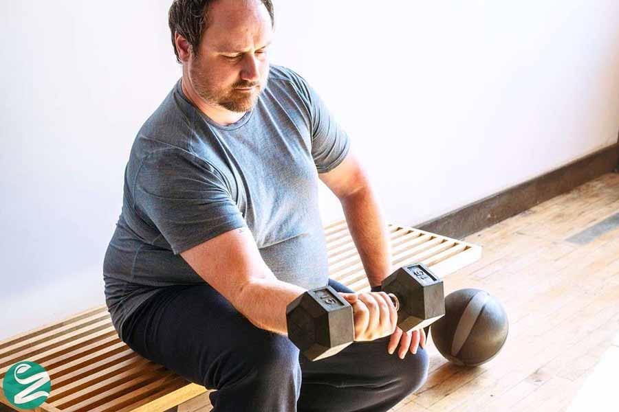 کاهش وزن با وزنه زدن