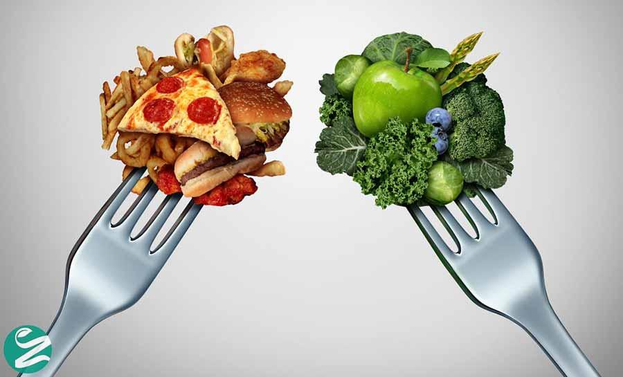 لاغر شدن سریع با کاهش کالری
