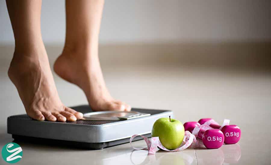 کاهش وزن مجاز در ماه