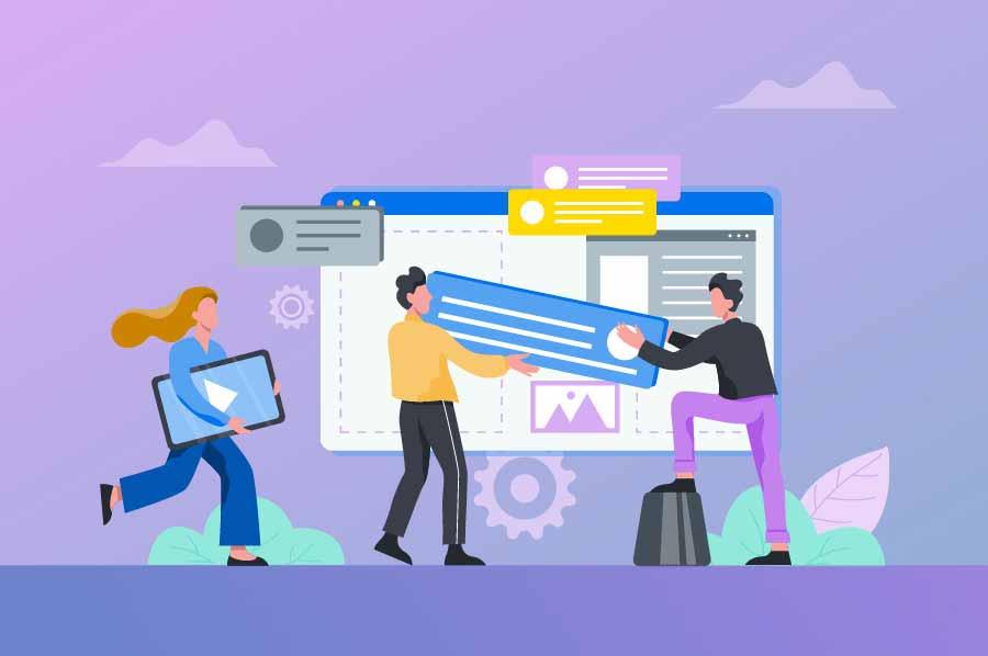 چگونه یک سایت بسازیم؟