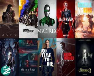 فیلم های خارجی سال 2021 + تریلر