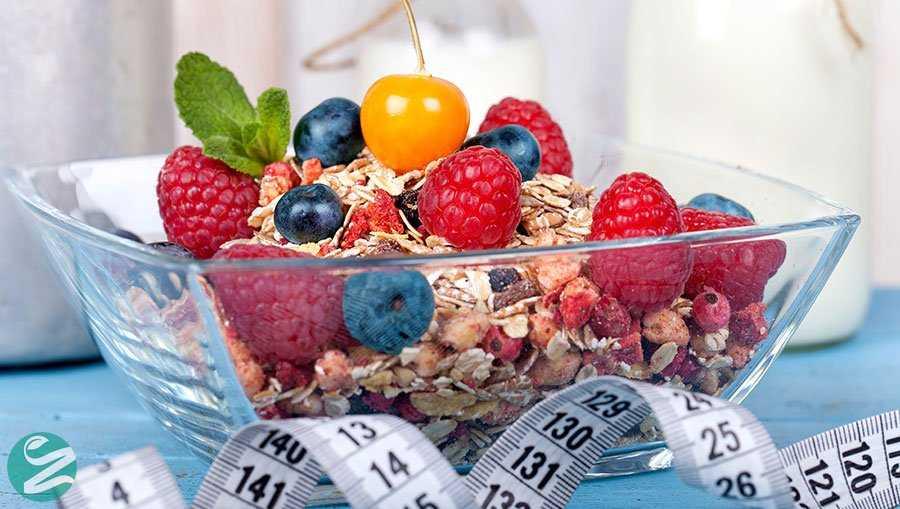 غذاهای مغذی و کاهش وزن
