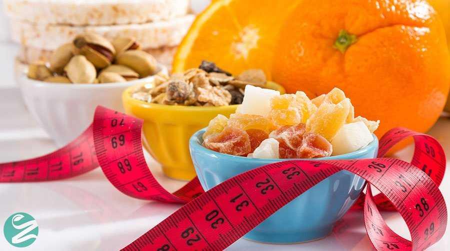 کاهش وزن با میوه