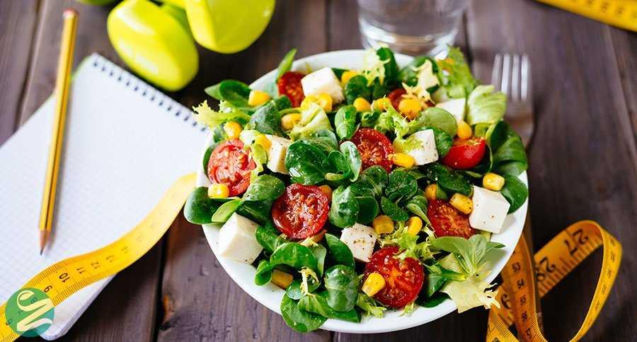 کاهش وزن با مصرف سبزیجات و کنترل کالری