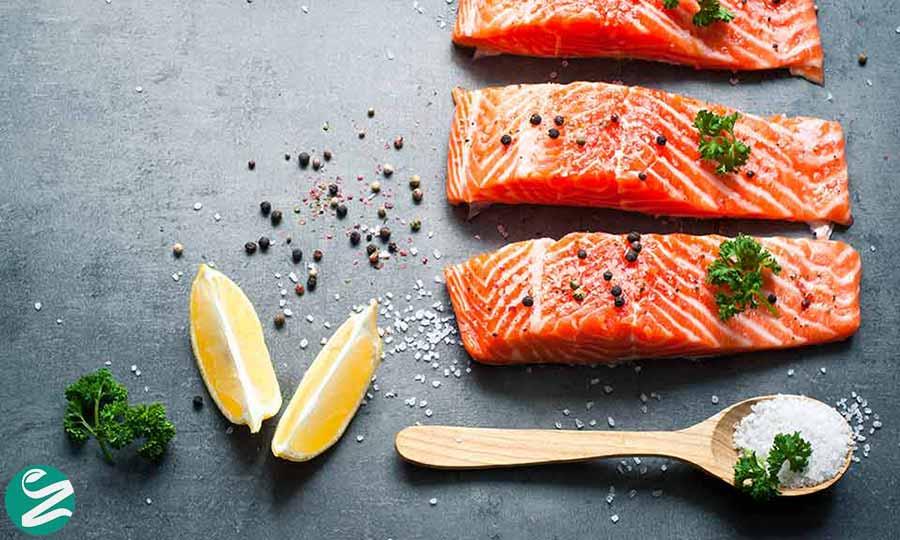 ماهی سرشار از آهن
