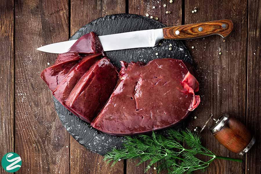 جگر و گوشت سرشار از آهن