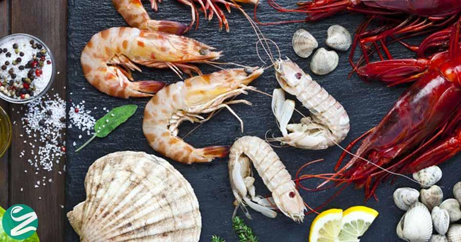 جانوران دریایی سخت پوست و سرشار از آهن