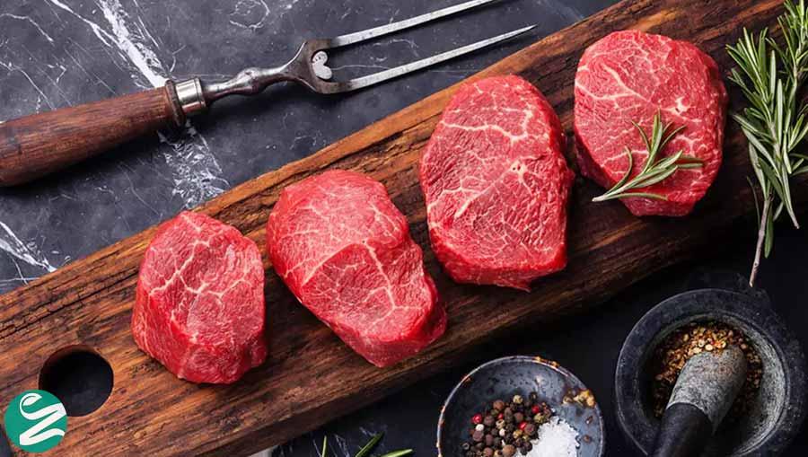 گوشت قرمز سرشار از آهن