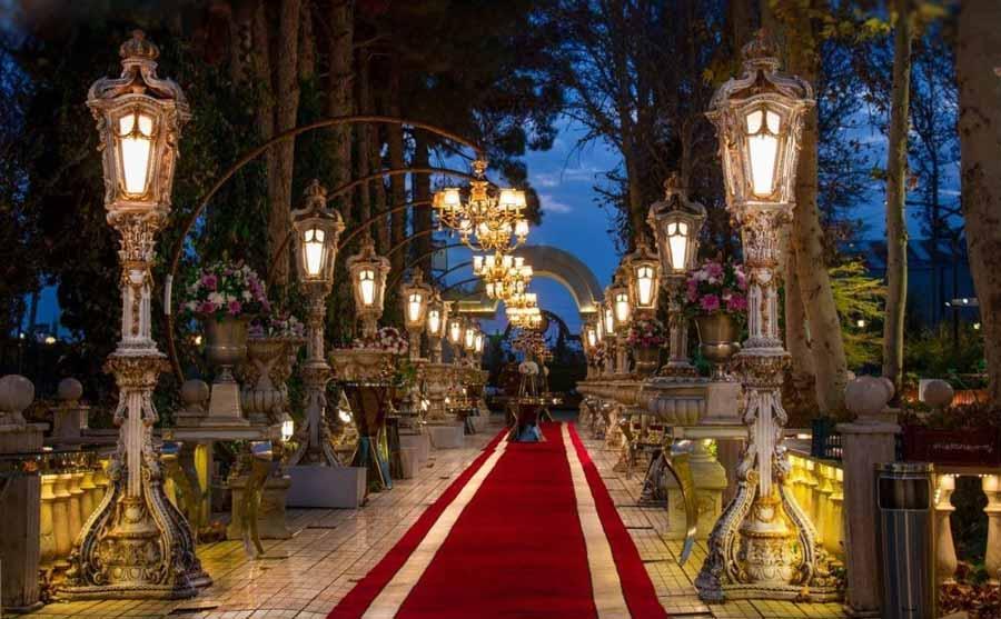 10 دلیل برای اینکه مراسم عروسی خود را در باغ تالار بگیرید