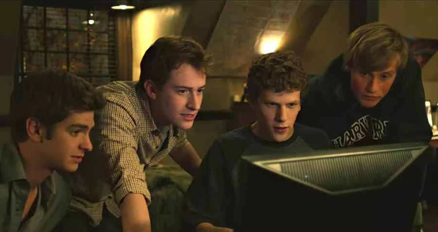 فیلم انگیزشی The Social Network