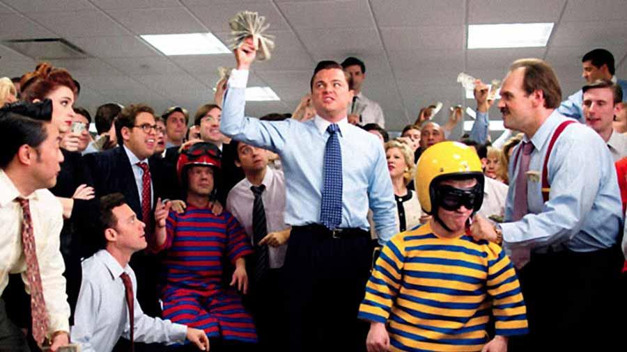 فیلم انگیزشی The Wolf of Wall Street