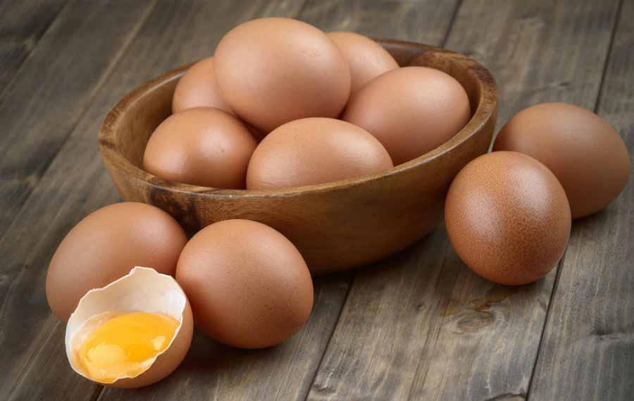 تخم مرغ برای سلامت پوست