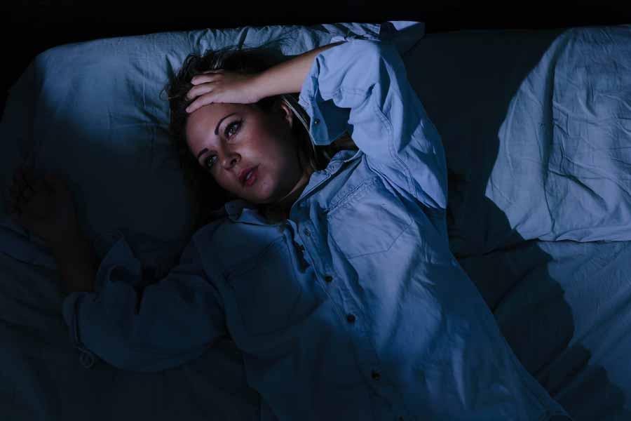علائم اضطراب و استرس شبانه