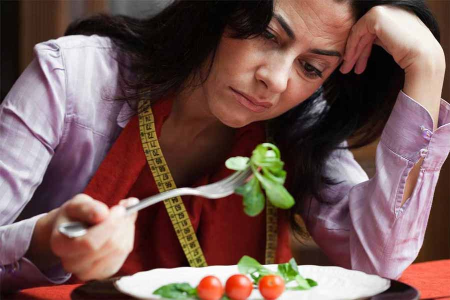 علت شکست شدن رژیم غذایی