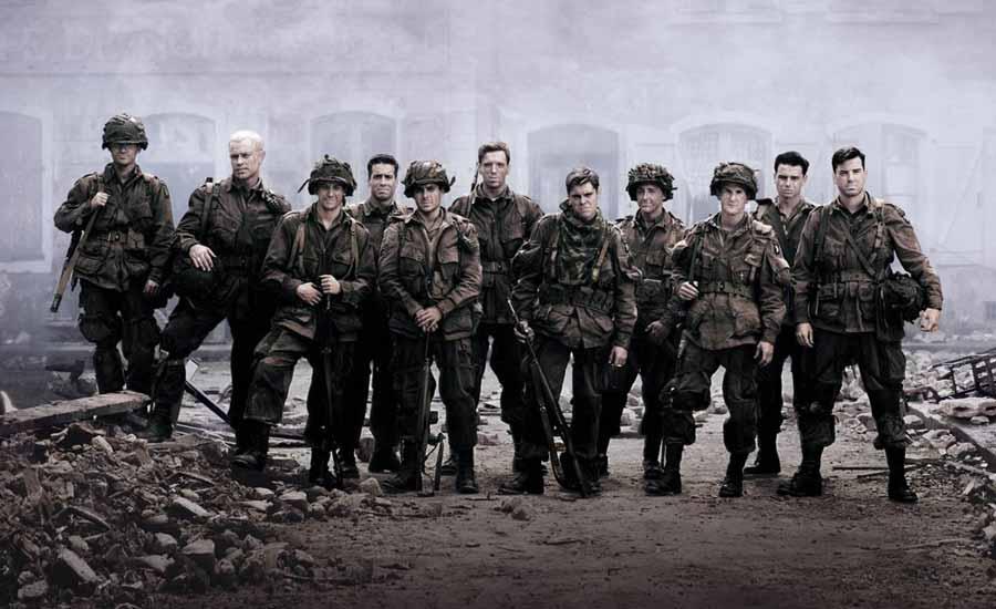 مینی سریال Band of Brothers (جوخه برادران)