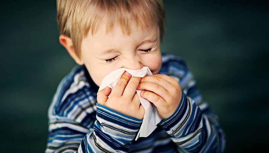 گرفتگی بینی در کودکان