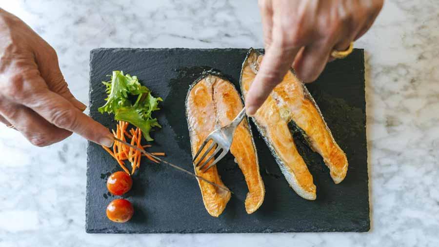 مصرف ماهی برای مقابله با افسردگی