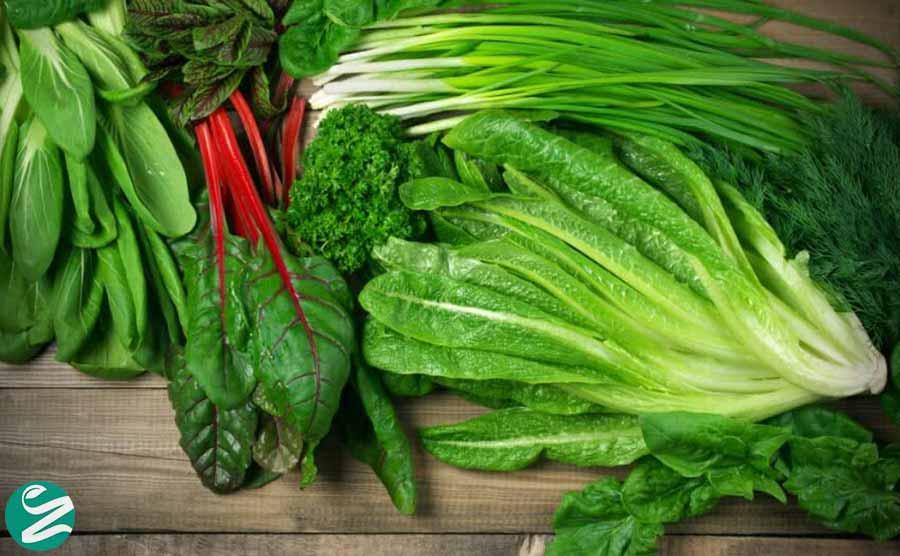 سبزیجات سبز رنگ؛ فواید و انواع سبزیجات با برگ سبز روشن و تیره