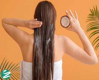 10 خواص روغن نارگیل برای مو