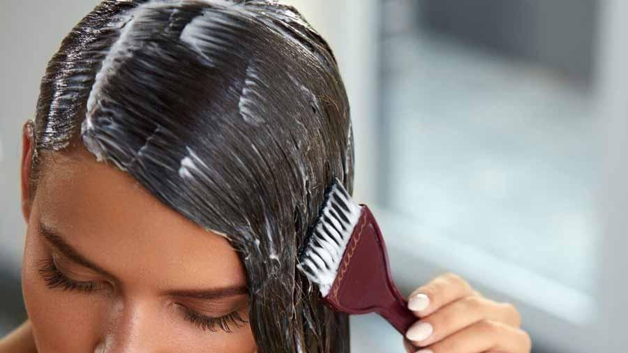 خواص ماست برای مو